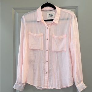 Anthropologie Holding Horses Button Down Blouse S